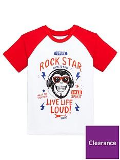 mini-v-by-very-boys-monkey-rockstar-raglan-tee-redwhitenbsp