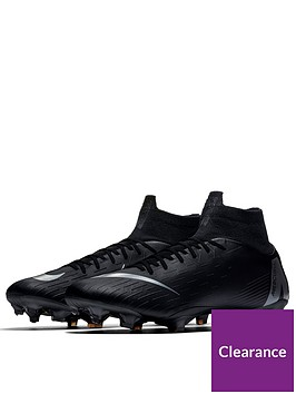 54107fc03e9dd3 Nike Mercurial Superfly VI Pro Firm Ground Football Boots - Black ...