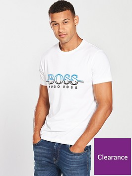 boss-crew-neck-chest-logo-t-shirt-white