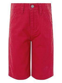 monsoon-henry-red-short