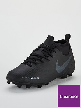 timeless design efa96 dbe59 Nike Junior Phantom Vision Club DF Firm Ground Football Boots - Black