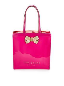 ted-baker-bow-detail-large-icon-bag-fuchsia