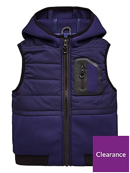 mini-v-by-very-contrast-pocket-hooded-gilet