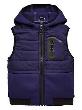 mini-v-by-very-contrast-pocket-padded-gilet