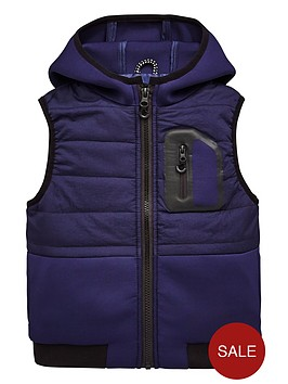 mini-v-by-very-contrast-pocket-padded-gilet