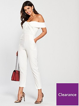 lavish-alice-woven-twist-bardot-tapered-jumpsuit-white