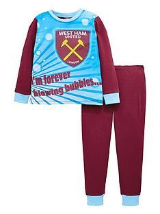character-boys-west-ham-united-football-pyjamas-multi-coloured