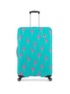 revelation-by-antler-maluku-flamingo-print-4-wheel-large-case