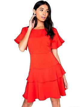 girls-on-film-tiered-ruffle-dress-rednbsp