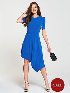 v-by-very-ity-asymmetric-skater-dress-cobalt-blue