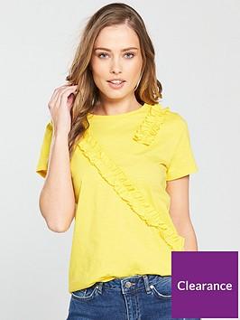v-by-very-frill-trim-t-shirt