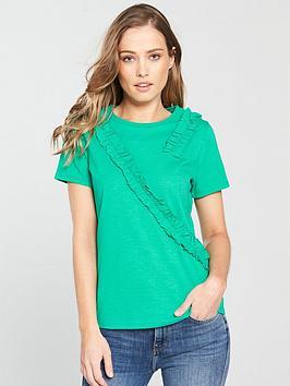 v-by-very-frill-trim-t-shirt-jade-green