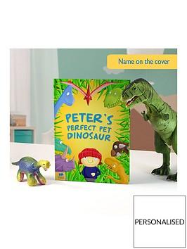 personalised-pet-dinosaur-book-hardback
