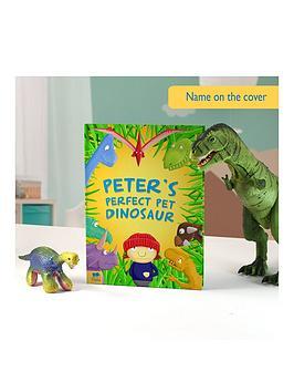 Very Personalised Pet Dinosaur Book Hardback Picture