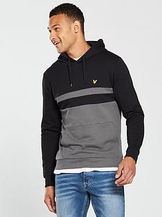 lyle-scott-lyle-amp-scott-yoke-pullover-hoodie