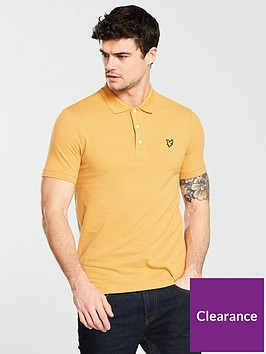 lyle-scott-lyle-amp-scott-plain-polo-shirt