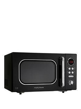 morphy-richards-23-litre-800-watt-microwave-black