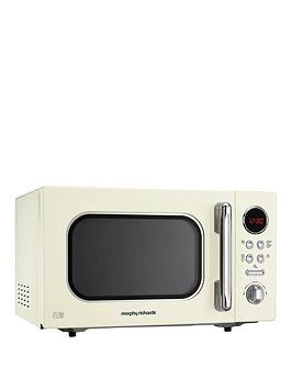 Morphy Richards   800W 23-Litre Microwave - Cream