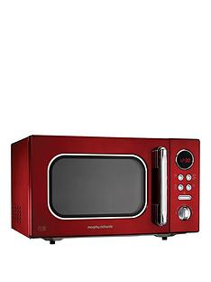 morphy-richards-23-litre-800-watt-microwave-red