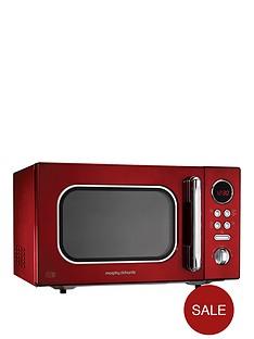 morphy-richards-23-litre-800-watt-microwave-red