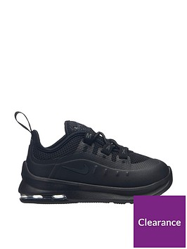 f336c33a84 Nike Air Max Axis Infant Trainers - Black | littlewoods.com