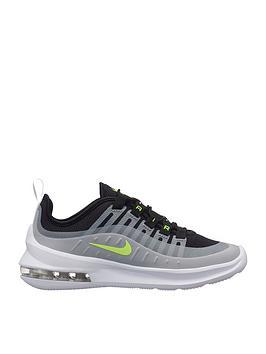 c3da809168e98 Nike Air Max Axis Junior Trainer - Grey/Black/Volt | littlewoods.com