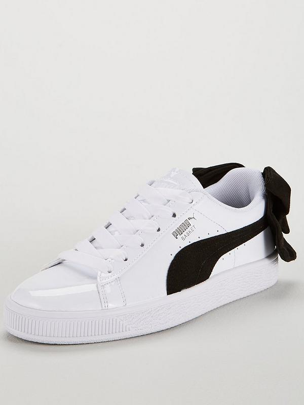 the best attitude 1dd18 f0f95 Basket Bow Patent - White/Black