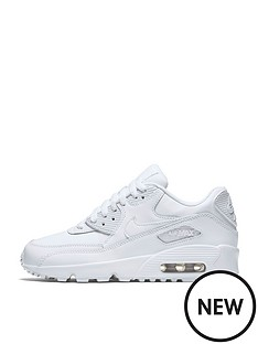nike-junior-air-max-90-leather-whitenbsp