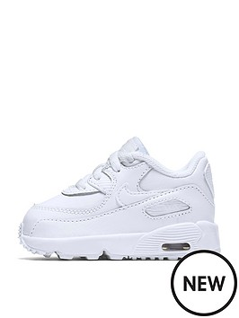nike-infant-air-max-90-leather-whitenbsp