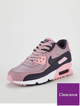 the latest b769d 726a2 Nike Air Max 90 Ltr Junior - Pink Grey