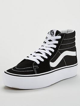Vans Vans Sk8-Hi Platform - Black/White Picture