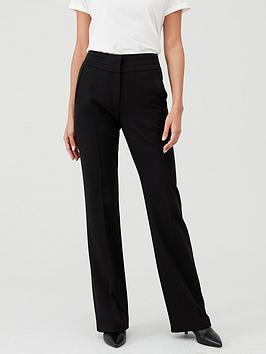 V by Very V By Very Petite The Bootcut Trouser - Black Picture
