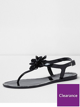 river-island-jewel-flipflop--black