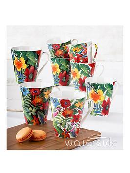 waterside-8-piece-tropical-mugs-set