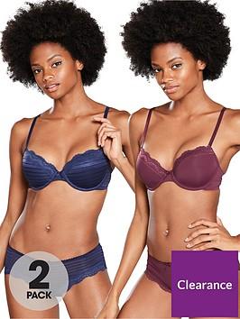 dorina-ida-t-shirt-bra-2-pack-bluered