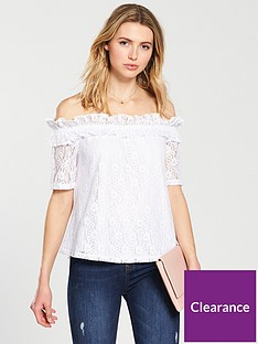 v-by-very-bardot-lace-top-whitenbsp