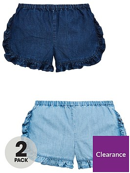 mini-v-by-very-pack-of-2-girlsnbspruffle-shorts