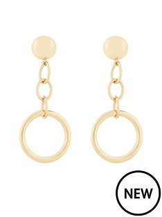 v-by-very-ali-chain-linked-drop-earrings-gold