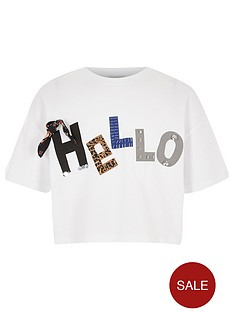 river-island-girls-white-039hello039-3d-cropped-t-shirt