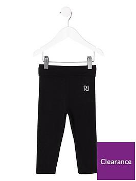 river-island-mini-girls-black-folded-waistband-leggings