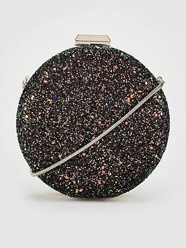 v-by-very-karla-glitter-round-clutch