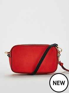 v-by-very-paloma-double-zip-crossbody-red