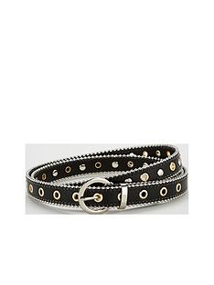 v-by-very-olivia-eyelet-detail-belt-black