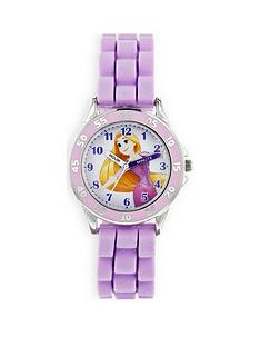 disney-princess-rapunzel-printed-dial-silicone-strap-kids-watch