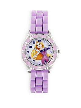 disney-princess-rapunzel-printed-dial-silicone-strap-kids-watch
