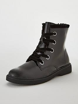 v-by-very-girls-kelly-patent-lace-up-frill-collar-boots-black