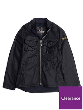 barbour-international-boys-bar-wax-jacket