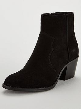 Real Suede Ankle Boot