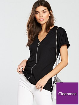 v-by-very-d-ring-zip-up-top-black
