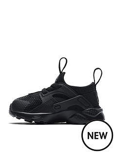 nike-huarache-run-ultra-infant-trainers-black